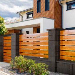 Ogrodzenie drewniane M4 Uni