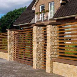 Ogrodzenie drewniane M5 Modero