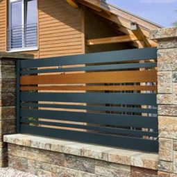Ogrodzenie drewniane S8 Avangarde