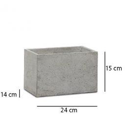 Donica betonowa S